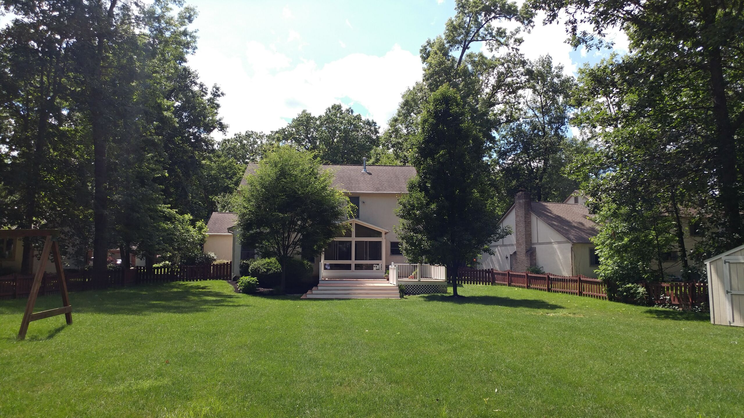 Luxurious Westerville 5-bedroom, 3.5 bath home on 1/2-acre lot with mature trees